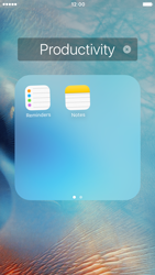 Apple iPhone 6s - Getting started - Personalising your Start screen - Step 5