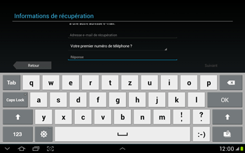 Samsung Galaxy Tab 2 10.1 - Applications - Configuration de votre store d