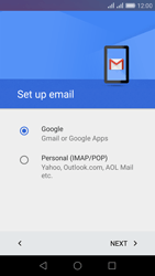 Huawei Honor 5X - E-mail - Manual configuration (gmail) - Step 8
