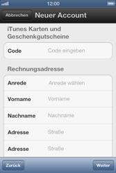 Apple iPhone 3GS - Apps - Einrichten des App Stores - Schritt 14