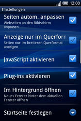 Sony Ericsson Xperia X8 - Internet - Manuelle Konfiguration - 20 / 23
