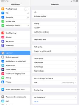 Apple ipad-pro-10-5-inch-ios-12 - Buitenland - Internet in het buitenland - Stap 4