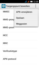Alcatel OT-4033X Pop C3 - MMS - Handmatig instellen - Stap 17