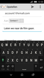 HTC Desire 320 - E-mail - E-mails verzenden - Stap 10