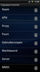 Sony Ericsson MT11i Xperia Neo V - Internet - buitenland - Stap 9