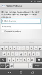 Sony Xperia E4G - E-Mail - Konto einrichten - 1 / 1