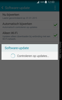 Samsung Galaxy Note Edge - software - update installeren zonder pc - stap 8