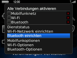 BlackBerry Bold - Bluetooth - Geräte koppeln - 6 / 11