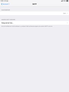 Apple ipad-mini-5-7-9-inch-2019-model-a2124 - E-mail - Account instellen (POP3 met SMTP-verificatie) - Stap 17