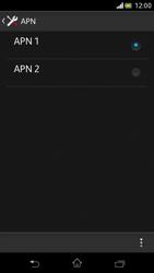 Sony Xperia V - Internet e roaming dati - Configurazione manuale - Fase 16