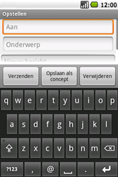 Samsung I7500 Galaxy - e-mail - hoe te versturen - stap 6