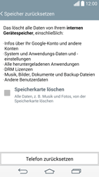 LG D855 G3 - Fehlerbehebung - Handy zurücksetzen - Schritt 9