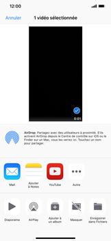 Apple iPhone XR - Photos, vidéos, musique - Créer une vidéo - Étape 13
