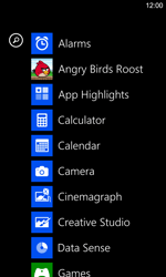 Nokia Lumia 925 - Getting started - Personalising your Start screen - Step 3