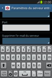 Samsung S6310 Galaxy Young - E-mail - Configuration manuelle - Étape 10