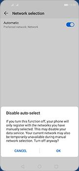 Huawei Nova 5T - Network - Manual network selection - Step 7