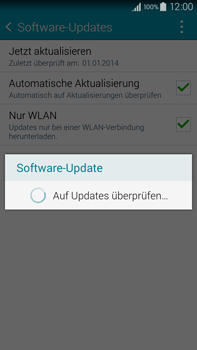 Samsung Galaxy Note 4 - Software - Installieren von Software-Updates - Schritt 9