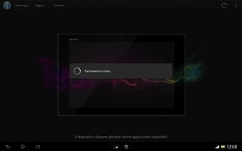 Sony Xperia Tablet Z LTE - Software - Installazione degli aggiornamenti software - Fase 7
