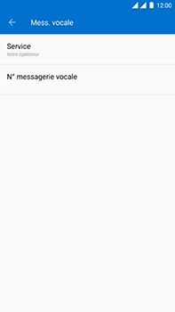 OnePlus 3 - Android Oreo - Messagerie vocale - Configuration manuelle - Étape 10