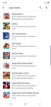 Samsung Galaxy Note 10 - Apps - Installieren von Apps - Schritt 16