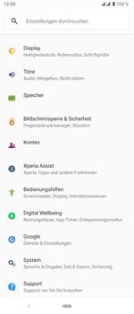 Sony Xperia 5 - Startanleitung - So aktivieren Sie eine SIM-PIN - Schritt 4