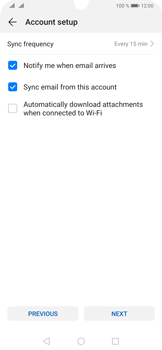 Huawei P30 Pro - E-mail - 032b. Email wizard - Yahoo - Step 8