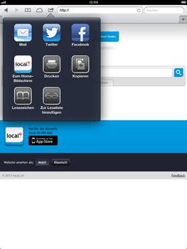 Apple iPad Retina - Internet und Datenroaming - Verwenden des Internets - Schritt 11