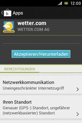Sony Xperia Miro - Apps - Herunterladen - Schritt 14