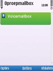 Nokia C5-00 - Voicemail - handmatig instellen - Stap 7