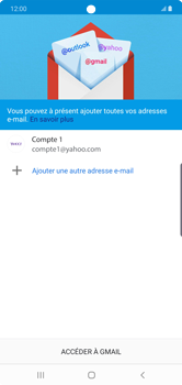 Samsung Galaxy Note10 Plus - E-mail - Configuration manuelle (yahoo) - Étape 15