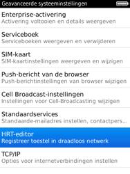 BlackBerry 9800 Torch - Instellingen - ontvangen via SMS - Stap 6