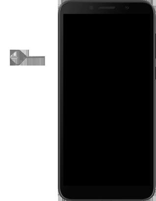 Huawei Y5P - Premiers pas - Insérer la carte SIM - Étape 2