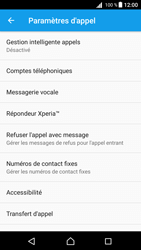 Sony Xperia Z5 - Android Nougat - Messagerie vocale - configuration manuelle - Étape 8