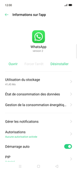 Oppo Find X2 Lite - Applications - Supprimer une application - Étape 7