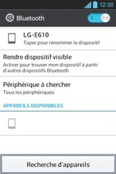 LG E610 Optimus L5 - Bluetooth - connexion Bluetooth - Étape 9
