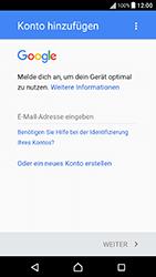 Sony Xperia X Performance - Apps - Konto anlegen und einrichten - 4 / 22