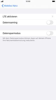 Apple iPhone 7 Plus - iOS 13 - Internet und Datenroaming - Deaktivieren von Datenroaming - Schritt 6