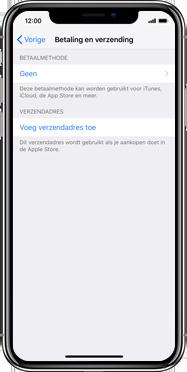 Apple iPhone SE (2020) (Model A2296) - Applicaties - Aankopen doen in de App Store met je KPN abonnement - Stap 5