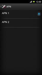 Sony Xperia J - MMS - Configurazione manuale - Fase 15