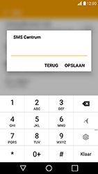LG K10 (2017) - sms - handmatig instellen - stap 8