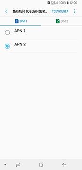 Samsung Galaxy A8 (2018) - Internet - handmatig instellen - Stap 20