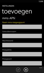 Nokia Lumia 820 LTE - Internet - handmatig instellen - Stap 16