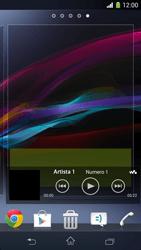 Sony Xperia Z1 Compact - Operazioni iniziali - Installazione di widget e applicazioni nella schermata iniziale - Fase 9