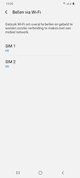 Samsung Galaxy S20 5G Dual-SIM eSIM SM-G981B - Bellen - WiFi Bellen (VoWiFi) - Stap 6