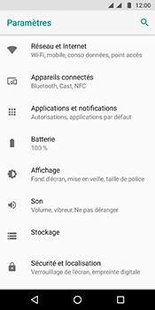 Motorola Moto G6 - Internet et connexion - Activer la 4G - Étape 4