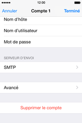 Apple iPhone 4 S - iOS 8 - E-mail - Configuration manuelle - Étape 16