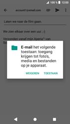 Sony xperia-xa1-g3121-android-oreo - E-mail - Bericht met attachment versturen - Stap 11