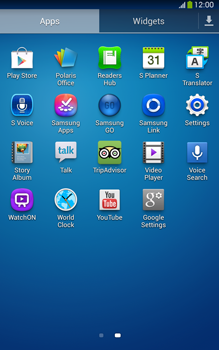Samsung Galaxy Tab 3 8-0 LTE - Applications - Setting up the application store - Step 3