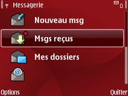 Nokia E63 - MMS - Configuration automatique - Étape 6