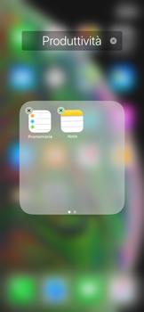 Apple iPhone XS Max - Operazioni iniziali - Personalizzazione della schermata iniziale - Fase 8